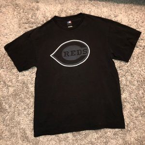 cincinnati reds blackout t-shirt